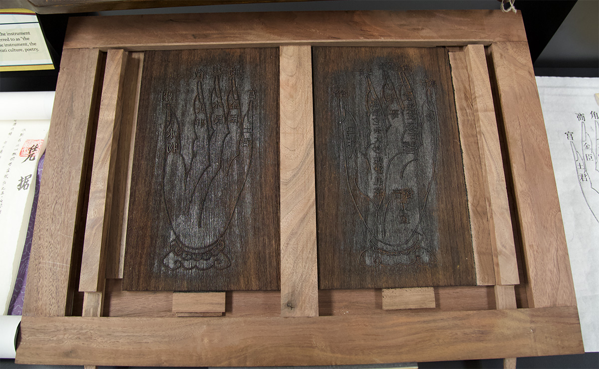 Print block for hand images