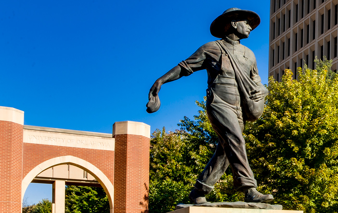 The Sower statue