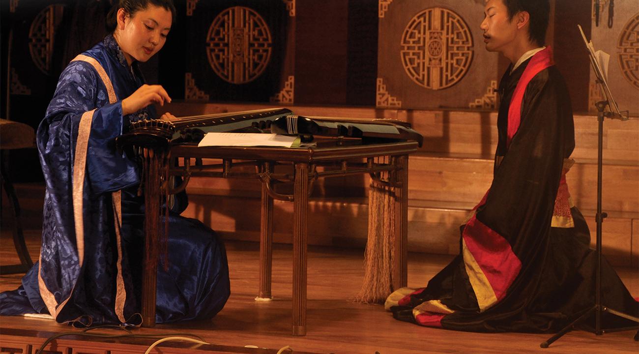 Photograph of opera performance