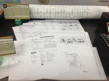 Patent applications as displayed at the University of Oklahoma Bizzell Memorial Library during the Academic Year 2017-2018