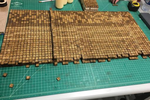 Chinese print blocks.